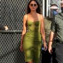 Eiza Gonzalez – Arriving at the Jimmy Kimmel Live Studios in Los Angeles 02/16/2021