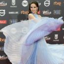 Natalia Oreiro- Platino Awards 2017- Red Carpet - 435 x 600