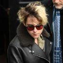 Kristen Stewart – Leaves Capital Radio in London
