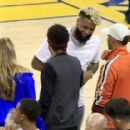 Neymar wowed by LeBron James as Lewis Hamilton joins Barcelona star to watch NBA Finals game two