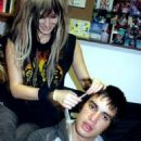Brendon Urie and Audrey Kitching