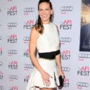 Hilary Swank The Homesman Screening At The Afi Fest In Hollywood