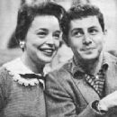 Jill Corey and Eddie Fisher