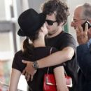Marion Cotillard And Guillaume Canet At Figari Airport In France 07-26-2010 - 454 x 681