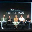 Eliza Coupe – 'Future Man' TV Show Panel at 2017 TCA Summer Press Tour in LA - 454 x 302