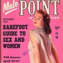 June McCall - Male Point Magazine Cover [United States] (December 1957)