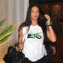 Adriana Lima – Leaving Fasano Restaurant Sao Paulo 6/30/2016