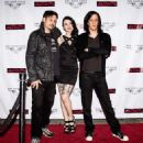 Rob Patterson, Pandie Suicide and Jeordie White at Massacre Premiere