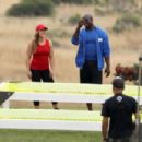 Ronda Rousey – Coaches the red team for 'Battle of the Network Stars' television series in Malibu - 454 x 303