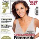Karine Le Marchand - Télé 7 Jours Magazine Cover [France] (31 December 2016)