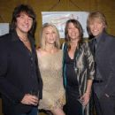 Heather Locklear and Richie Sambora w/  Jon and Dorothea Bon Jovi - A Benefit Evening for the Michael J. Fox Foundation for Parkinson's
