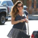 Kelly Brook Out In Beverly Hills