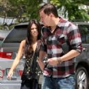 Jenna Dewan and Channing Tatum go out to lunch in Beverly Hills on October 8, 2010