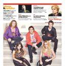 Mariana Espósito, Juan Pedro Lanzani, Gastón Dalmau, Nicolás Riera, Rocío Igarzábal - Clarin Magazine Cover [Argentina] (7 July 2011)