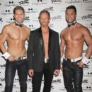 Ian Ziering debuts as new celebrity guest star of 'Chippendales Las Vegas' at Rio All Suite Hotel and Casino in Las Vegas - 396 x 594
