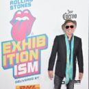 Keith Richards of The Rolling Stones attends The Rolling Stones celebrate the North American debut of Exhibitionism at Industria in the West Village on November 15, 2016 in New York City - 425 x 600