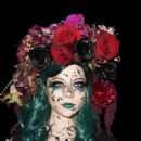 Michelle Trachtenberg – Just Jared's Annual Halloween Party in Los Angeles 10/30/ 2016 - 454 x 563