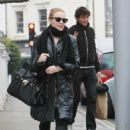 Kylie Minogue - Leaving home in London - Feb 2, 2011
