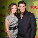 Emily Deschanel - The Fox Fall Eco-Casino Party - BOA Steakhouse In West Hollywood, California 2009-09-14