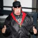 Hulk Hogan leaves the ITV studios in London, England on January 22