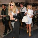 Kim Zolciak is seen at LAX on March 31, 2016