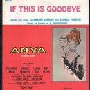 Anya (Musical) Original 1965 Broadway Cast. Robert Wright & George Forrest - 454 x 595