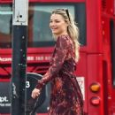 Emma Rigby walked the dog out in Notting Hill - 454 x 554