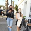 Caroline D'amore – Out for dinner at FIA restaurant in Santa Monica - 454 x 681