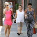 Amber Rose Out Running Errands in West Hollywood, California - October 3, 2012