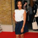 Celebrities On The Front Row: Day One - LFW Spring/Summer 2011 - 375 x 594