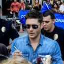 Jensen Ackles- July 20, 2017- Outside Omni Hotel - 450 x 600