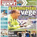 Nemzeti Sport - Nemzeti Sport Magazine Cover [Hungary] (16 August 2014)