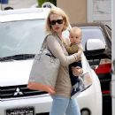 January Jones: visit a Dr's office in Los Angeles