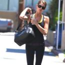 Ashley Greene leaving her gym in Studio City, CA (August 6)