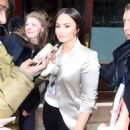 Demi Lovato – Leaves her hotel in NYC - 454 x 559