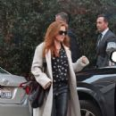 Isla Fisher – Leaving Mr Chow restaurant in Beverly Hills