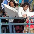 Jessica Alba – Filming 'Bad Boys' in Los Angeles