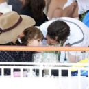 Marion Cotillard Watches Horse Racing   (June 4, 2016)