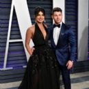 Priyanka Chopra and Nick Jonas : 2019 Vanity Fair Oscar Party
