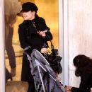 Salma Hayek - New York City Candids, 26.12.2008.