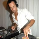 Alex Dimitriades mixing up a beat - 350 x 400