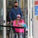 Katie Price – Is seen at the Chelsea and Westminster hospital - 454 x 540