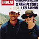 Crown Prince Felipe Of Spain and Eva Sannum - 300 x 414