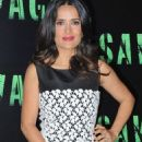 "Salma Hayek attends the ""Savages"" photocall held at Georges V Hotel in Paris"
