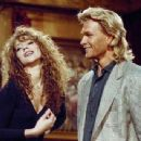Mariah Carey and Patrick Swayze - Saturday Night Live (1990). - 454 x 341