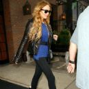 Lindsay Lohan - New York City, 2008-10-14