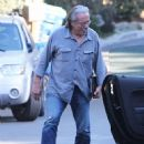 Edward James Olmos shops for properties in the Hollywood Hills, California with family on January 29, 2014 - 453 x 594