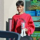 Rihanna and Chris Brown's L.A. Slurpee Stop