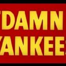 Damn Yankees 1958 Movie Musical Starring Tab Hunter