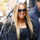Mariah Carey – Leaving the Electric Lady Studios in New York